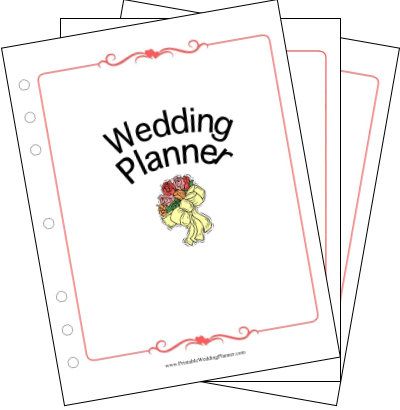 $14 Printable Wedding Planner Collection