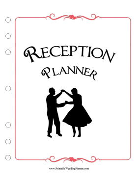 Reception Cover Page